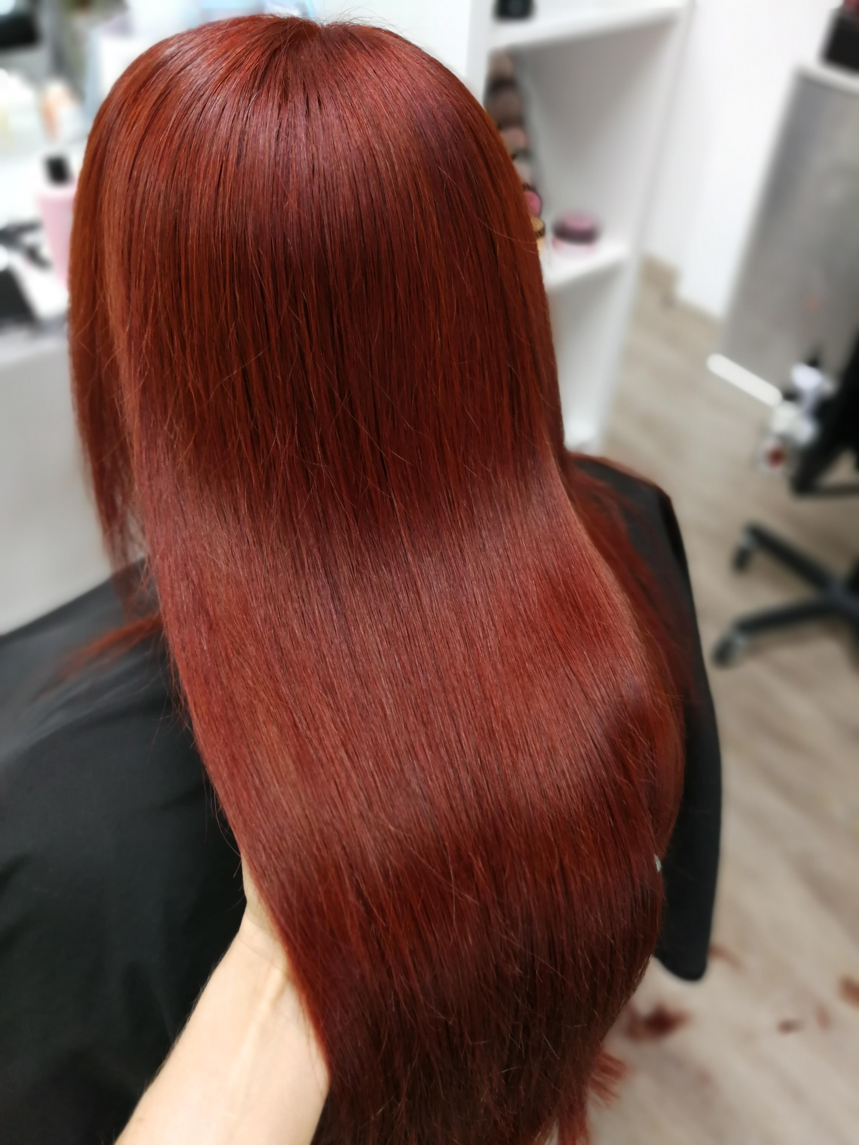 FriseurTeam Feldstraße Bielefeld rote Haare