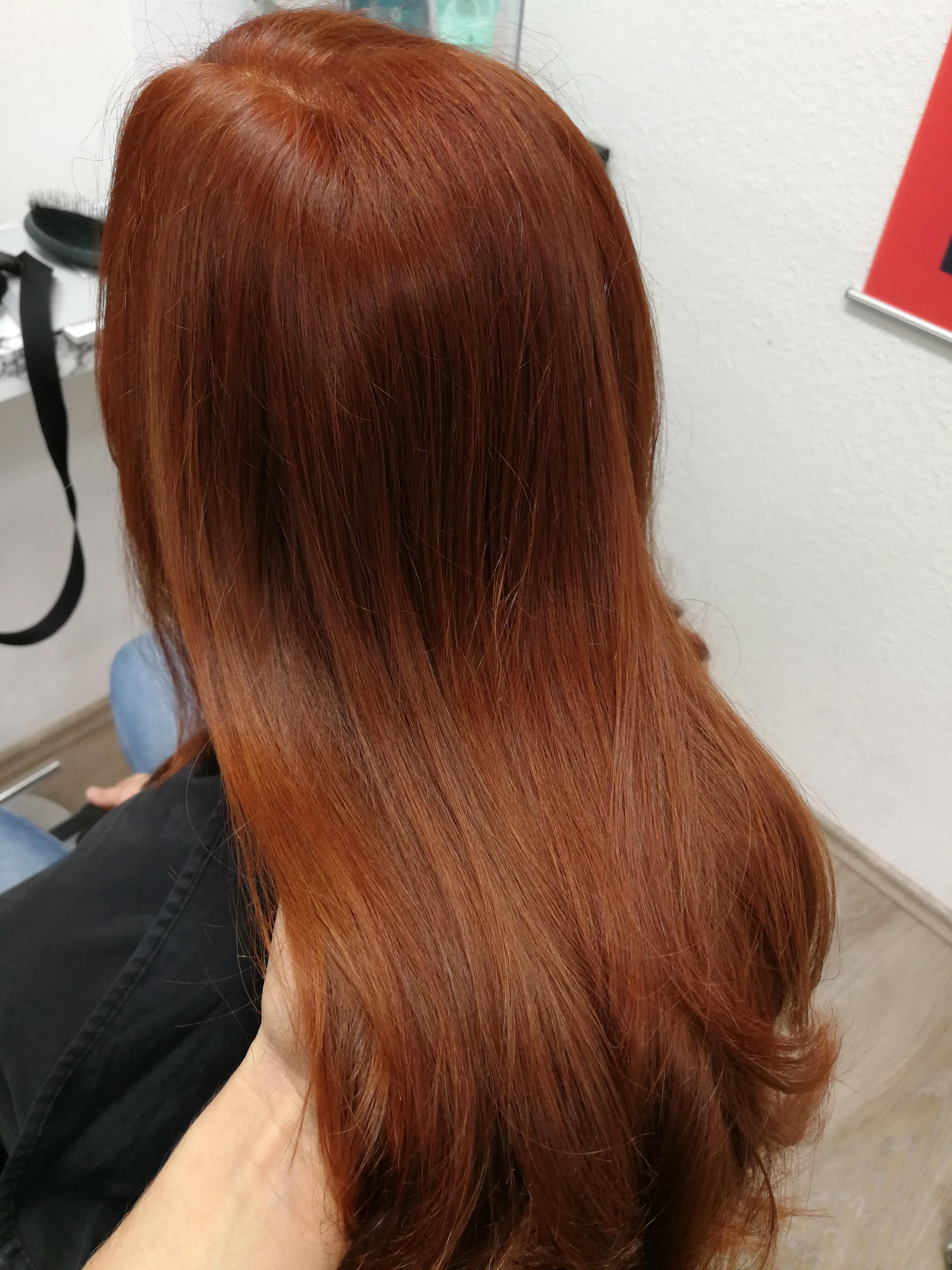 Kupfer Rot Haarfarbe Bielefeld